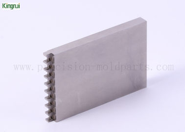 10 Pitches Precision Mold Parts Inserts Used in Plastic Connector Industries