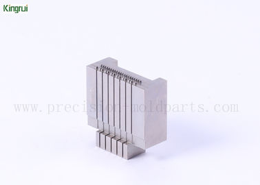 China Customized Machined Wire Cutting Plastic Injection Mould Parts ISO9001 Certification supplier
