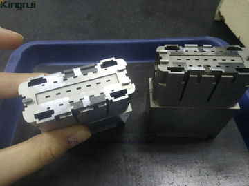 China Complex Connector Mold Parts , Cavity High Precision Mold Inserts Parts 2pcs supplier