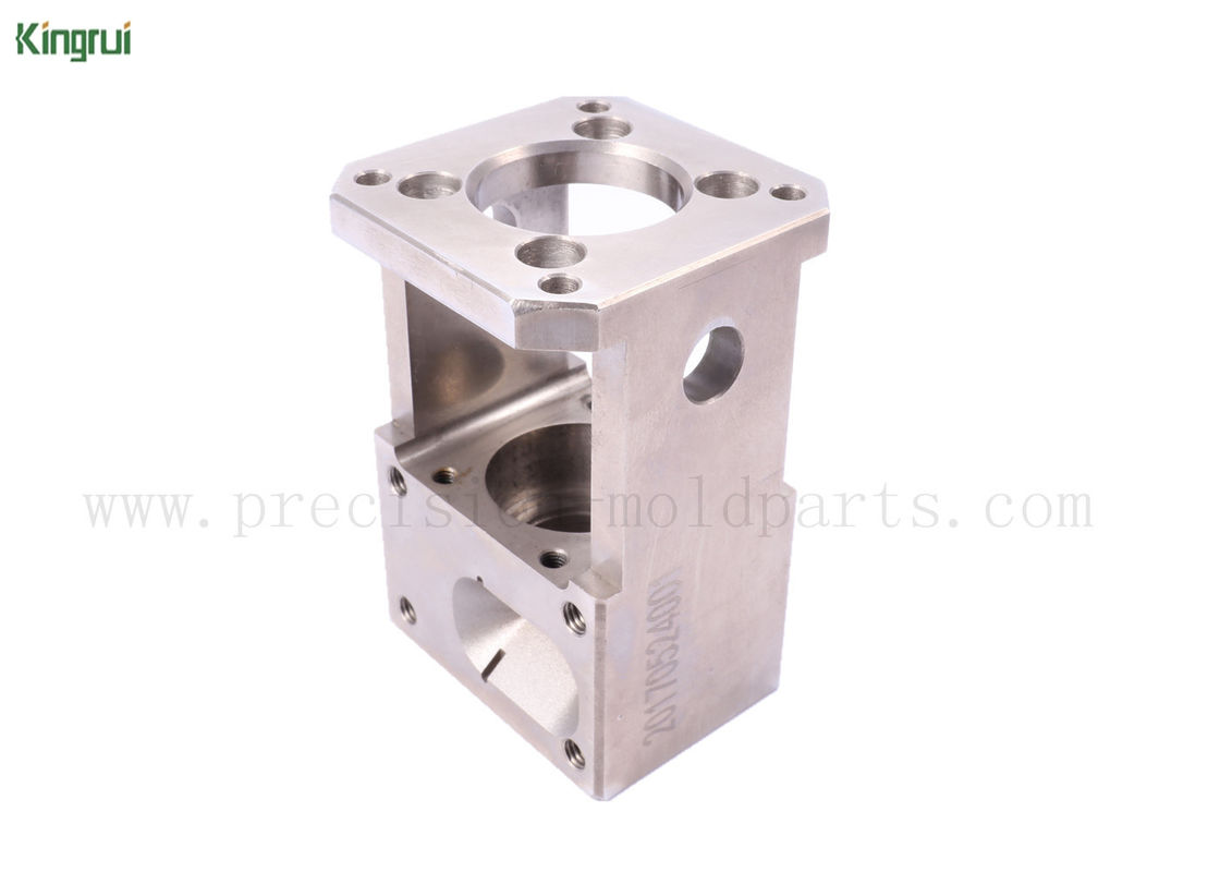 Square Stainless Steel Wire EDM Spare Parts Customized Machining for ...