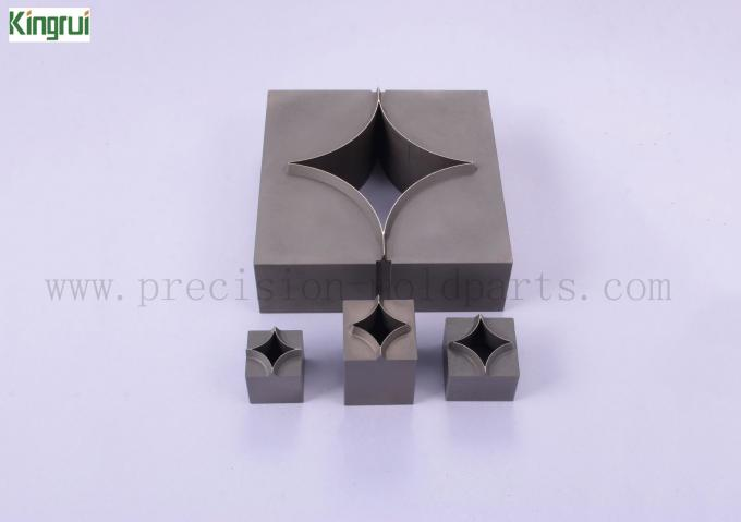 Full Star Sandblasting Packaging Knives 50 x 50 x 23,8 mm SKD11 Material