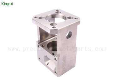 Square Stainless Steel Wire EDM Spare Parts Customized  Machining for Auto